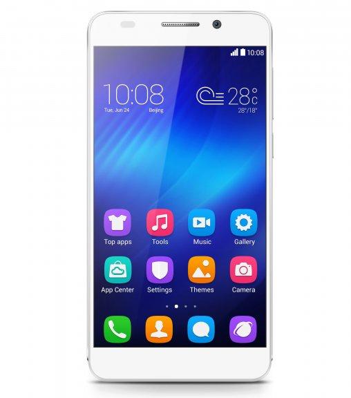 """Honor 6 5"""" Android-puhelin, valkoinen"""