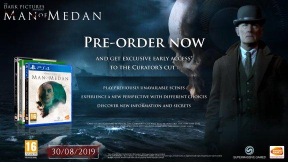 The Dark Pictures - Man of Medan -peli, PS4, kuva 2