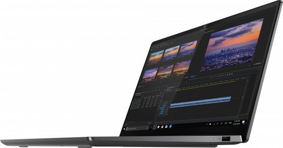 """Lenovo Yoga S740 14"""" -kannettava, Win 10 Pro 64-bit, harmaa, kuva 5"""
