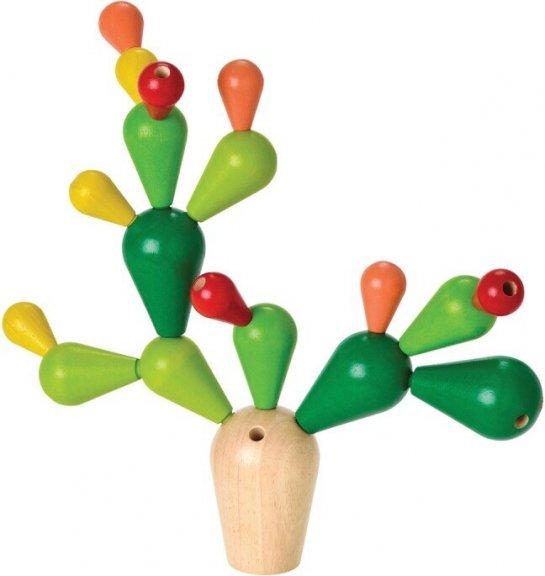 PlanToys Tasapainoileva Cactus -lastenpeli