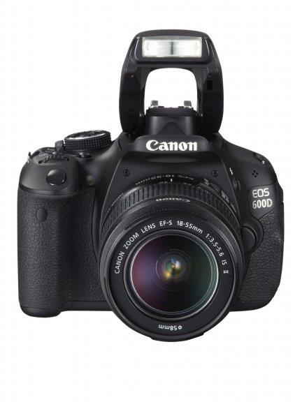 Canon EOS 600D KIT digijärjestelmäkamera + 18-55 IS II objektiivi, kuva 4