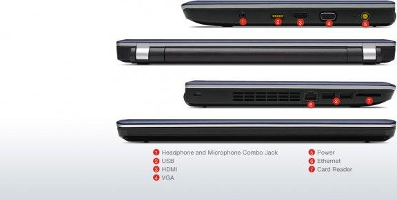 "Lenovo ThinkPad Edge E330 13.3"" HD/Core i5-3230M/4 GB/500 GB/3G/Windows 7 Professional 64-bit / Windows 8 Pro 64-bit  -kannettava tietokone, musta, kuva 7"