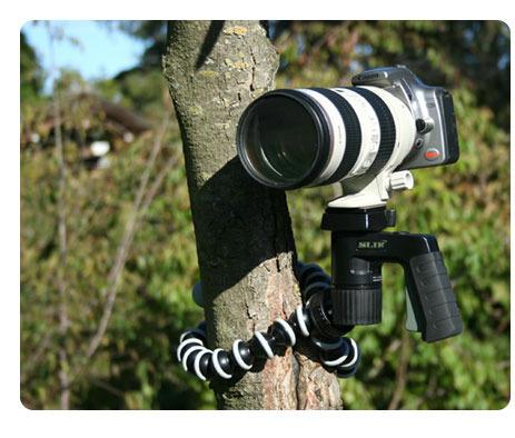 Gorillapod SLR Zoom (GP3) - taipuva kamerajalusta järjestelmäkameroille, kuva 2