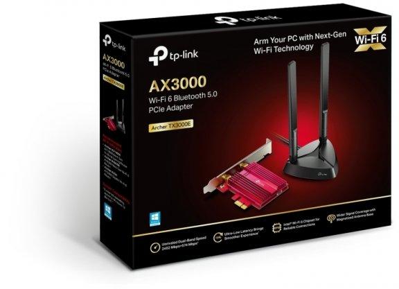TP-LINK Archer TX3000E Dual-band PCI-E-WiFi 6-adapteri ja Bluetooth 5.0 -sovitin, kuva 3