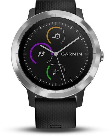 Garmin vivoactive 3 -GPS-älykello, musta, kuva 2