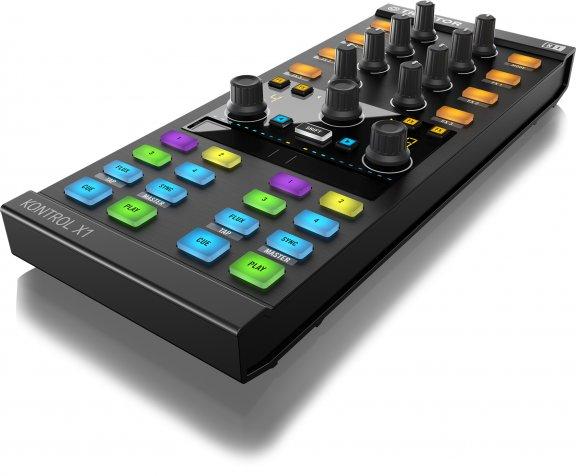 Native Instruments Traktor Kontrol X1 MKII DJ-ohjain, kuva 2