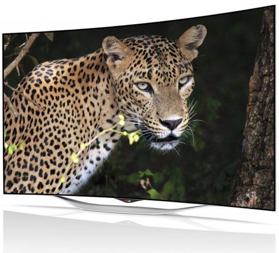 "LG 55EC930V 55"" Smart 3D Curved OLED-televisio, webOS, WiFi, Miracast, kuva 2"