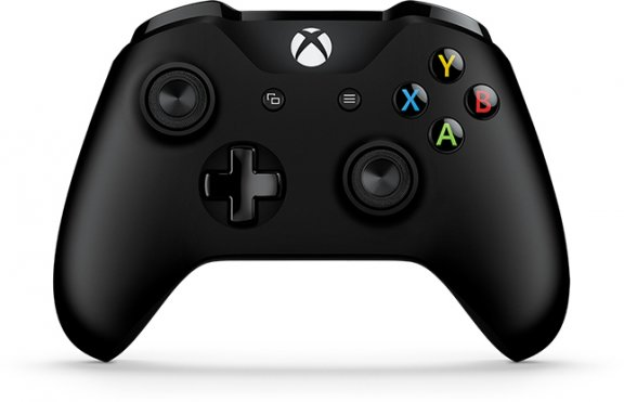 Microsoft langaton Xbox-ohjain, musta
