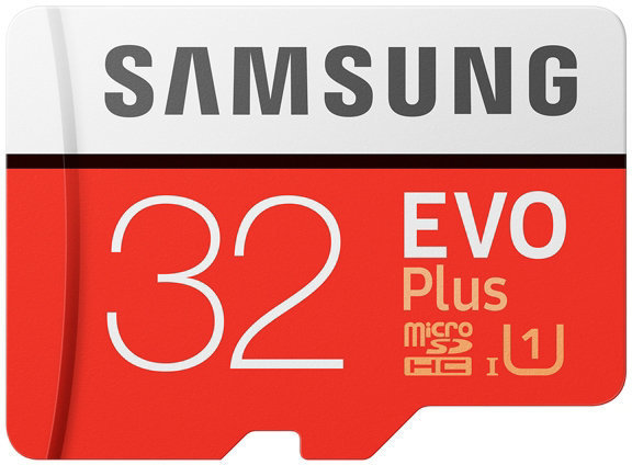 Samsung 32 Gt Micro SDHC EVO Plus -muistikortti