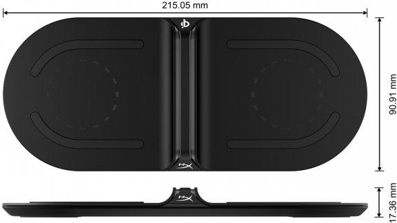 HyperX ChargePlay Base -Qi-lataustelakka, kuva 2