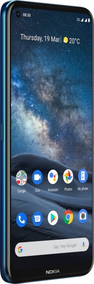 Nokia 8.3 5G -Android-puhelin Dual-SIM, 64 Gt, sininen, kuva 5