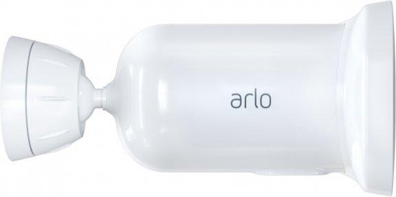 Arlo Pro 3 Floodlight -valvontakamera 2K-tarkkuudella ja LED-valaisimella, valkoinen, kuva 3