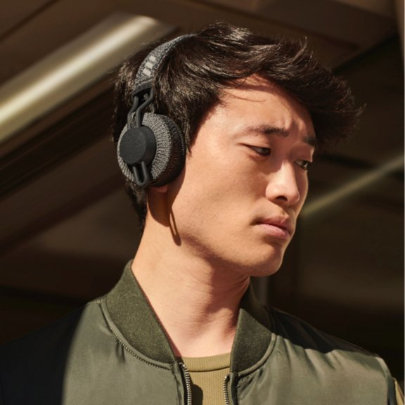 Adidas RPT 01 Sport On-ear -Bluetooth-sankakuulokkeet urheiluun, Night Grey, kuva 8