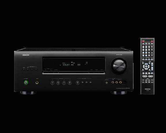 Denon AVR-1312, 5.1-kanavainen AV-vahvistin, väri musta, kuva 4