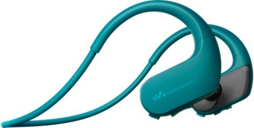 Sony Walkman NW-WS410 4 GB -vedenkestävä MP3-soitin, sinivihreä, kuva 2