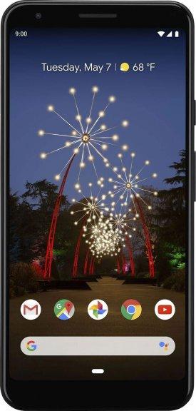 Google Pixel 3a XL -Android-puhelin 64 Gt, musta, kuva 2
