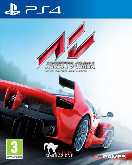 Assetto Corsa - Your Racing Simulator -peli, PS4