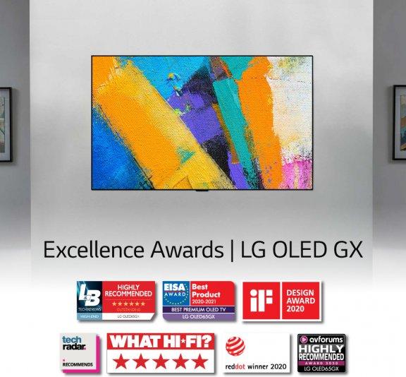 "LG OLED65GX 65"" 4K Ultra HD OLED -televisio, kuva 26"