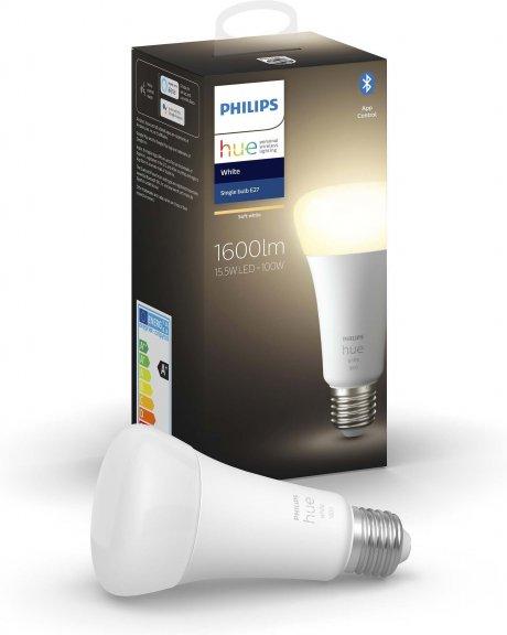 Philips Hue -älylamppu, BT, White, E27, 1600 lm, kuva 3