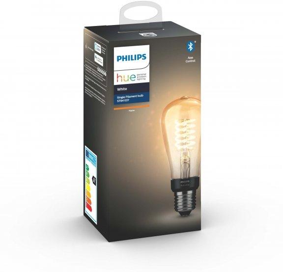 Philips Hue -filamenttiälylamppu, BT, White, Filament Edison, E27, kuva 4