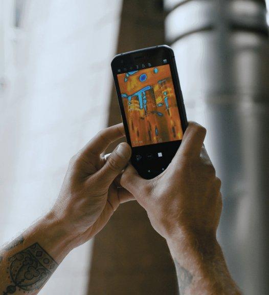 Cat S62 Pro -Android-puhelin Dual-SIM, 128 Gt, musta, kuva 6