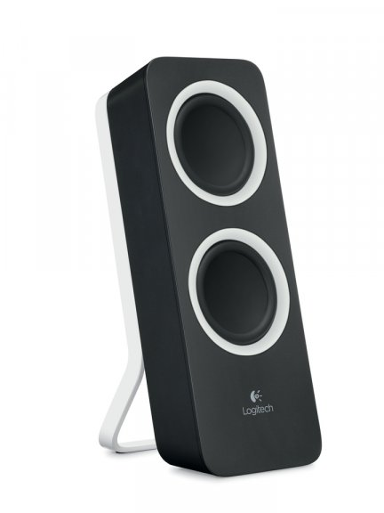 Logitech Z200 -stereokaiuttimet, musta, kuva 3