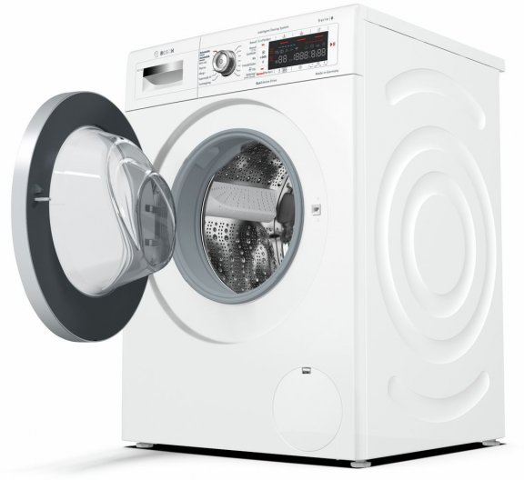 Bosch WAWH26B9SN Serie 8 -pyykinpesukone, valkoinen, kuva 5