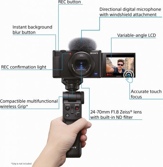 Sony ZV-1 -VLOG-kamera, kuva 6