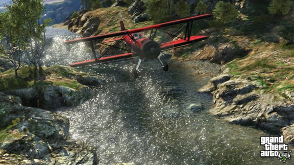 Grand Theft Auto V -peli, PS3, kuva 5