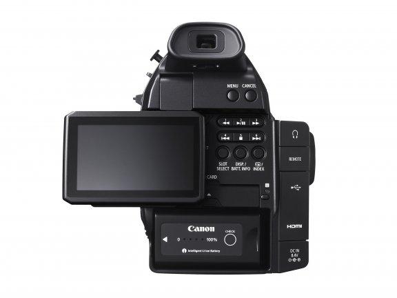 Canon EOS C100 Mark II videokamera, runko, kuva 4