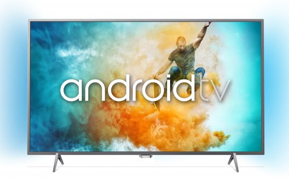 "Philips 55PUT6401 55"" Smart Android 4K Ultra HD LED -televisio"