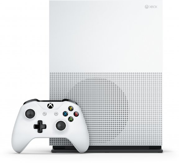 Microsoft Xbox One S 500 Gt -pelikonsoli, valkoinen, kuva 4