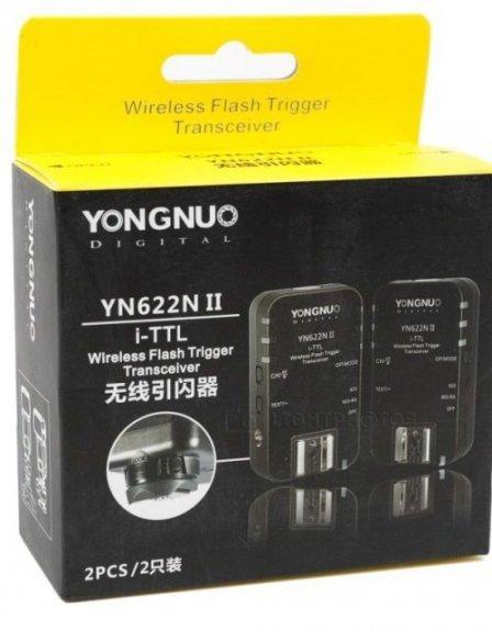 YongNuo YN-622N II TTL-radiolaukaisin, Nikon, kuva 2