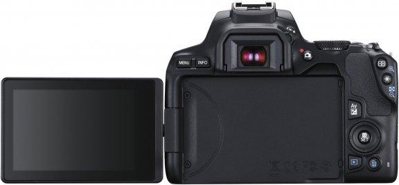 Canon EOS 250D -järjestelmäkamera, musta + 18-55 IS STM, kuva 2