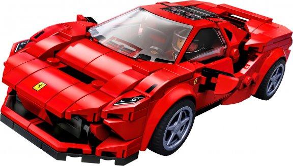 LEGO Speed Champions 76895 - Ferrari F8 Tributo, kuva 3