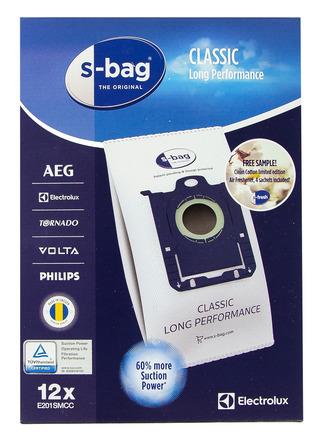 Electrolux Classic Long Performance E201SMCC S-Bag -pölypussi, 12 kpl