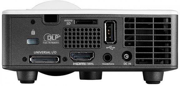 Optoma ML1050ST+ Ultra Mobile LED -kompakti projektori, kuva 6