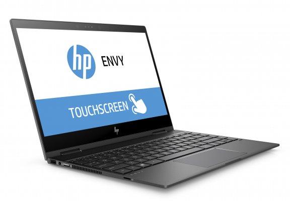 """HP Envy x360 13-ag0001no 13,3"""" -kannettava, Win 10, Tuhkanhopea, kuva 3"""