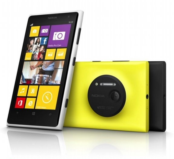Nokia Lumia 1020 Windows Phone -puhelin, musta