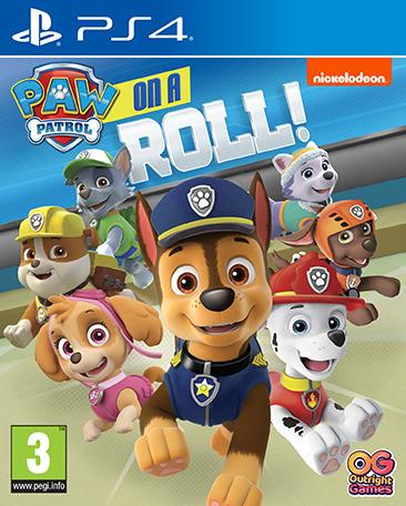 Paw Patrol: On A Roll -peli, PS4