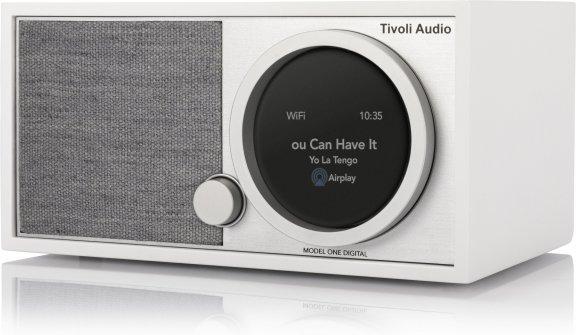 Tivoli Audio Model One Digital Generation 2 -pöytäradio, valkoinen / harmaa, kuva 2