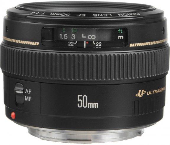 Canon EF 50mm f/1.4 USM -normaaliobjektiivi