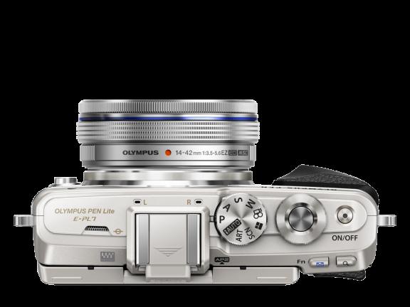 Olympus PEN E-PL7 hopea + 14-42 mm EZ objektiivi, kuva 5
