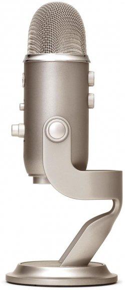 Blue Microphones Yeti -mikrofoni USB-väylään, platina, kuva 2