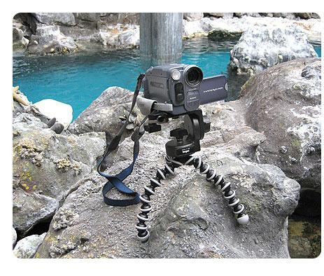 Gorillapod SLR Zoom (GP3) - taipuva kamerajalusta järjestelmäkameroille, kuva 4