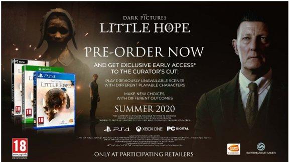 The Dark Pictures Anthology - Little Hope -peli, Xbox One, kuva 2