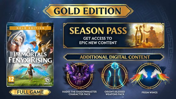 Immortals Fenyx Rising - Gold Edition -peli, PS4, kuva 2