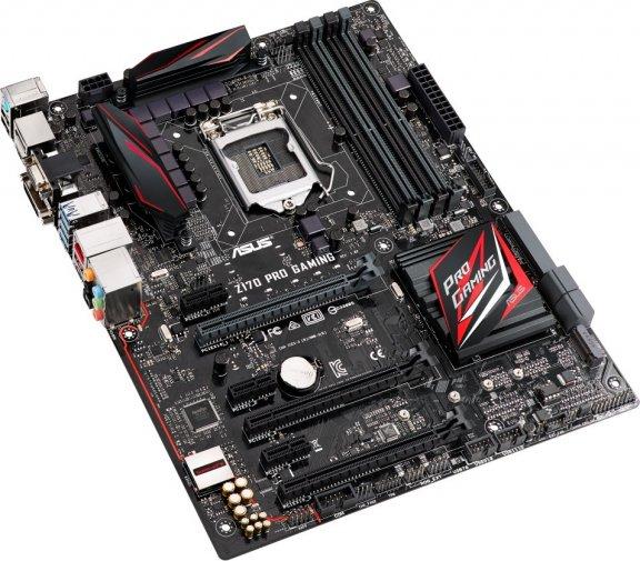 Asus Z170 PRO GAMING Intel Z170 LGA 1151 ATX-emolevy