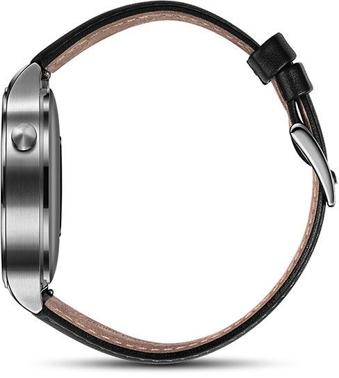 Huawei Watch -älykello, hopea nahkarannekkeella, kuva 4