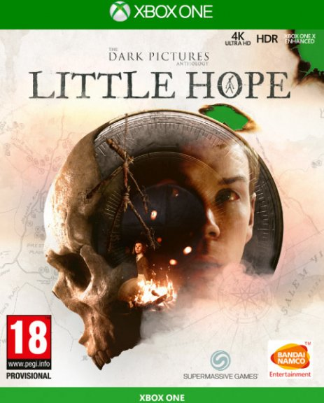 The Dark Pictures Anthology - Little Hope -peli, Xbox One
